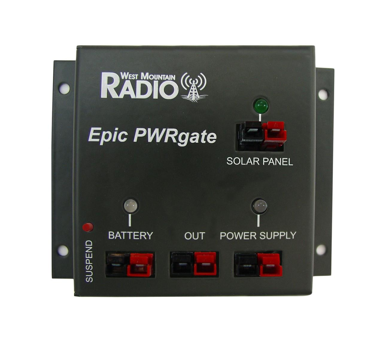 Powerwerx 30 Amp Desktop DC Power Supply with Powerpole Connectors SS-30DV