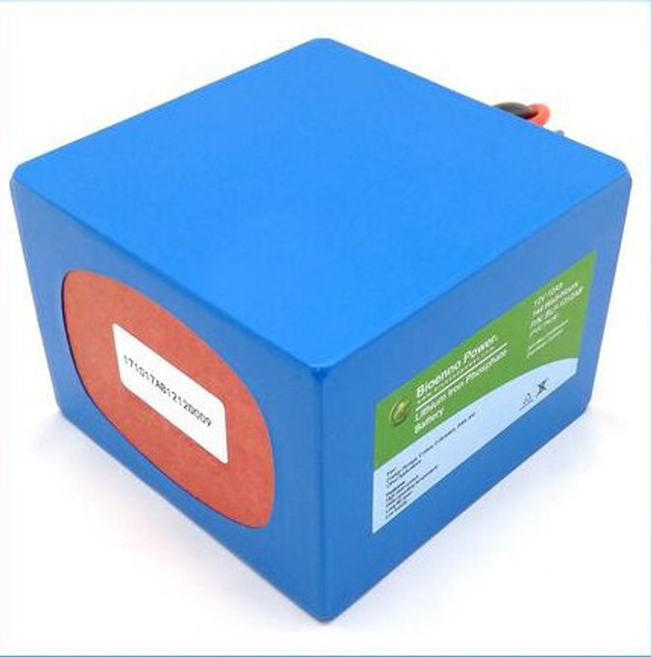 Bioenno Power 12 Volt, 12 Amp Hour Lithium Iron Phosphate Battery (AB)