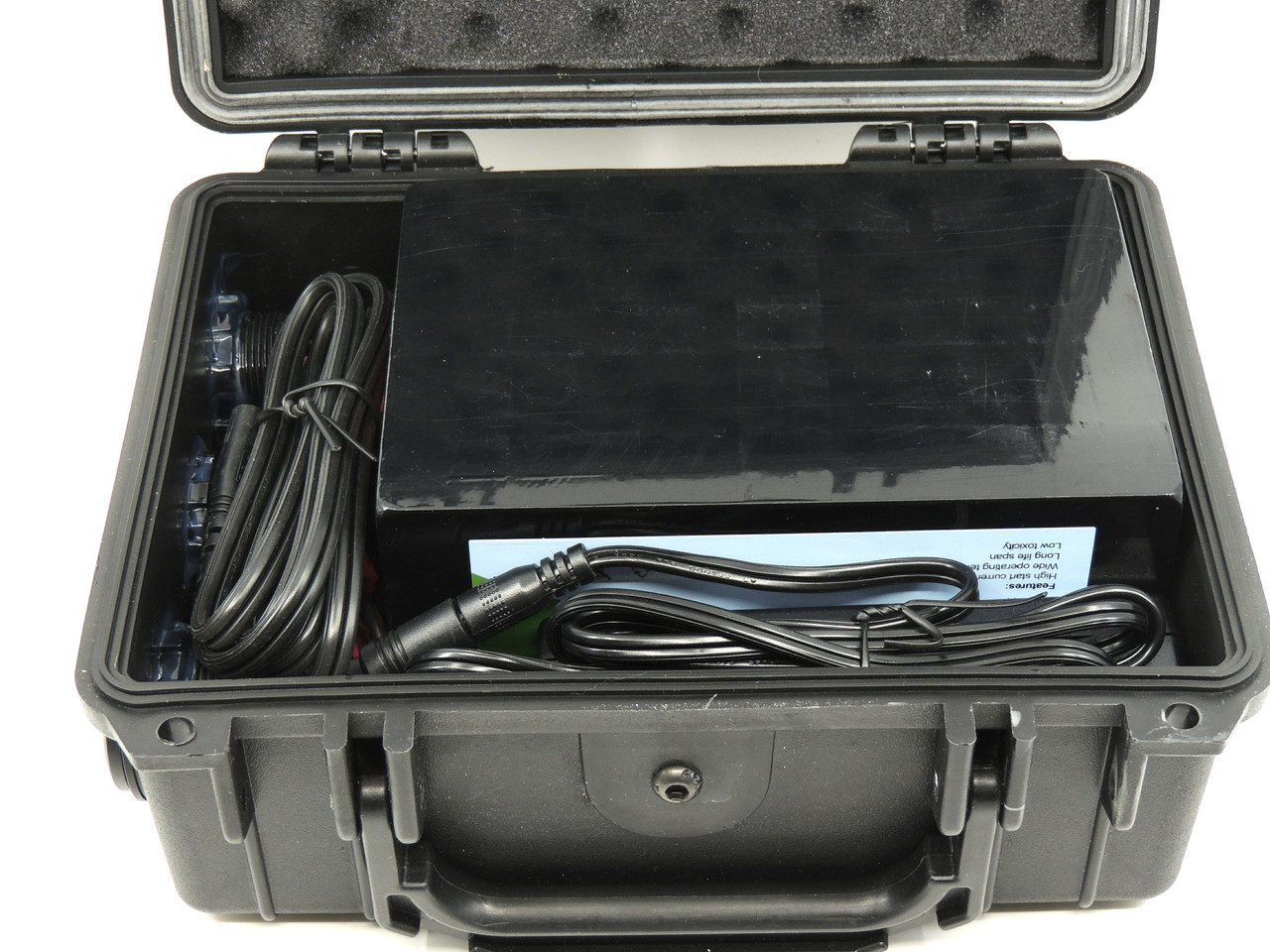 DC12 MITY-T400 GO-BOX for LiFePO4 Battery and Charger
