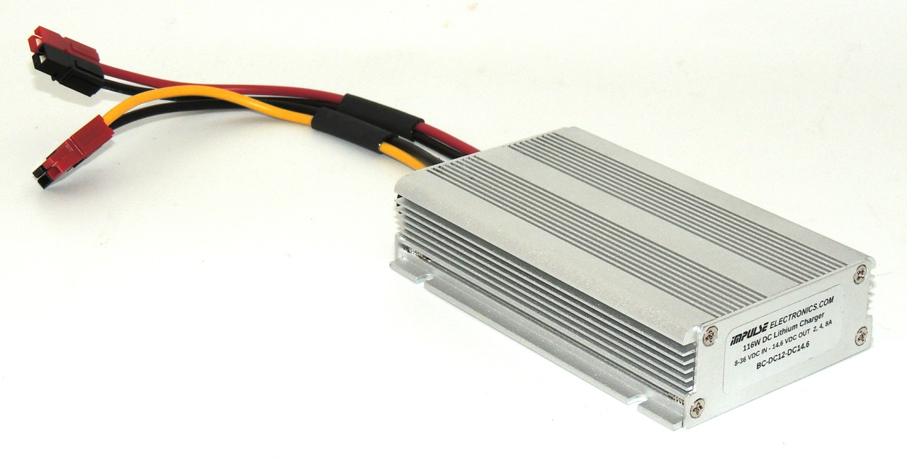 Automotive DC 12 Volt to 14.6 Volt Lithium Battery Charger