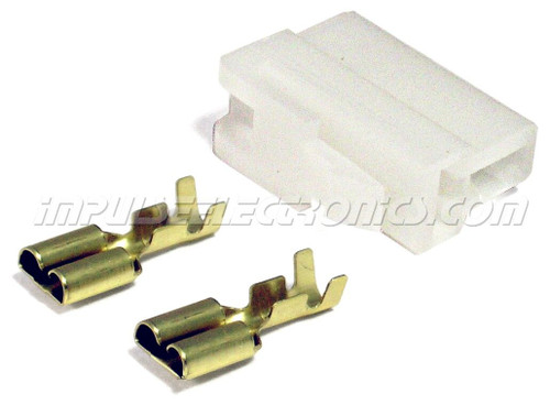 """OEM """"T"""" Connector, Male (female contacts)"""