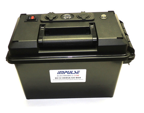 DC12-VERSA-GO-BOX for LiFePO4 or AGM Battery and Charger