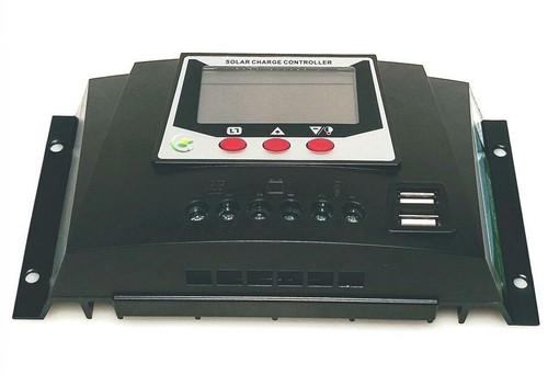 12V/24V/36V/48V, 30A Solar Charge Controller for LiFePO4 Batteries