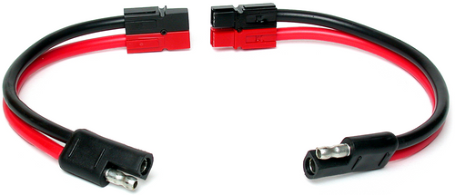 Adapter Cable, SAE/Bullet to Powerpole connector
