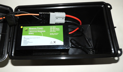 DC12 VERSA-T400 SOLAR GO-BOX for LiFePO4 Battery and Charger