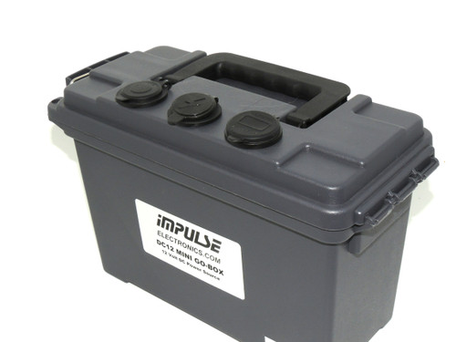 DC12  MINI-T300 GO-BOX for Lithium (LiFePO4) or 15 Ah AGM Battery and Charger