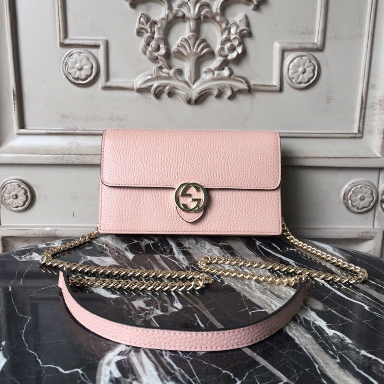 Box Shoulder Bag 20cm 510304 Grained Calfskin Leather Spring Summer 2018  Collection d75da136c8354