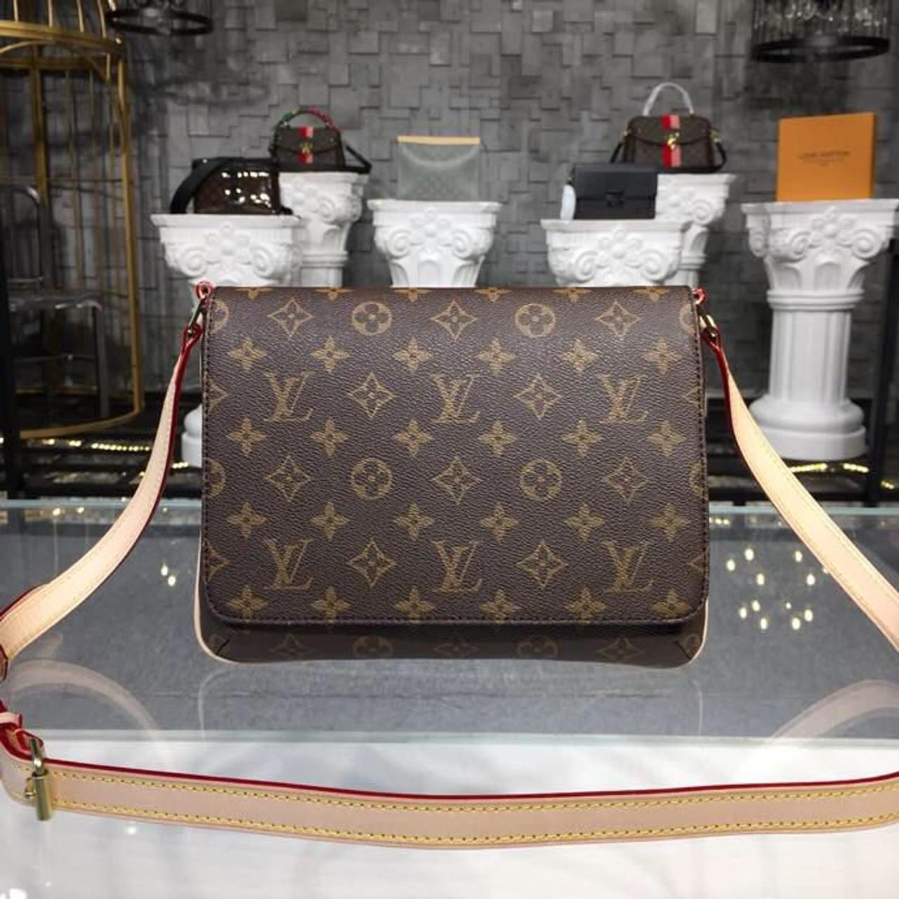 dc0185acb43c Louis Vuitton Musette Tango Short Strap Shoulder Bag Monogram Canvas  Fall Winter 2018 Collection M51257