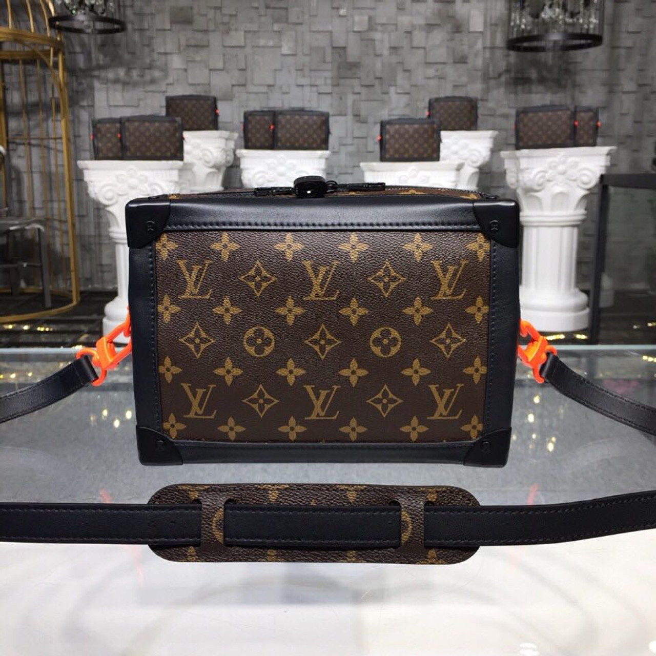 0124aeb58c0f Louis Vuitton Soft Trunk Mini Bag Monogram Canvas Fall Winter 2018  Collection M44427