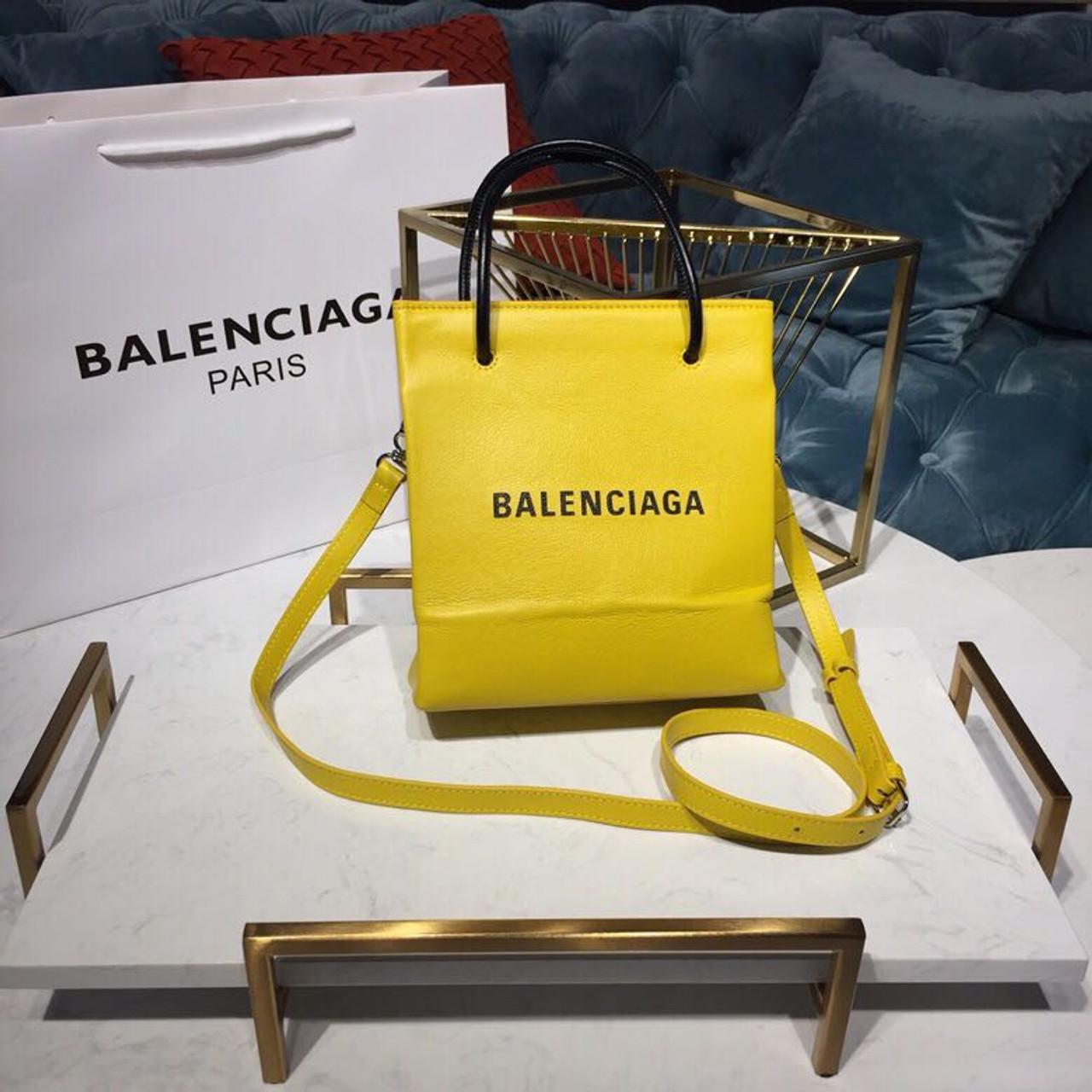 5ef2689495a Balenciaga Shopping Tote XXS Bag 20cm Natural Grain Calfskin Leather  Spring/Summer 2019 Collection,