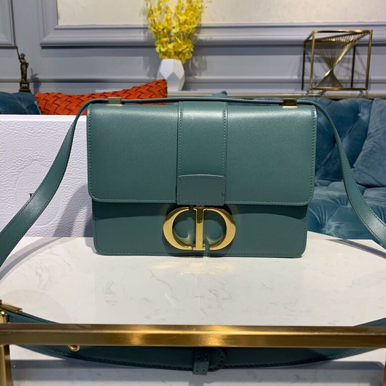b556b874c3 Christian Dior 30 Montaigne Bag 24cm Gold Hardware Lambskin Leather  Spring/Summer 2019 Collection, Green
