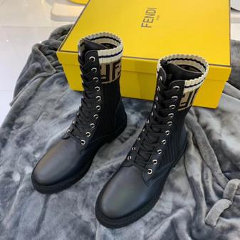 rockoko chelsea sock combat boot fendi