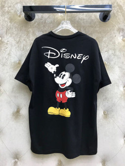 Gucci x Disney Mickey  Oversized Cotton T-Shirt Spring/Summer 2020 Collection, Black