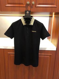Versace Medusa Logo Polo Shirt Spring/Summer 2020  Collection,  Black