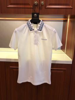Versace Medusa Logo Polo Shirt Spring/Summer 2020  Collection,  White