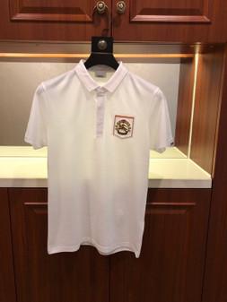 Burberry Pique Polo Cotton Shirt Spring/Summer 2020  Collection,  White