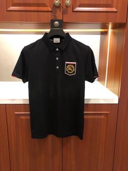 Burberry Pique Polo Cotton Shirt Spring/Summer 2020  Collection,  Black