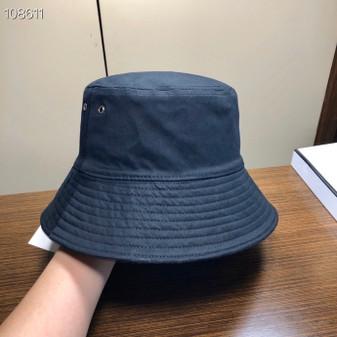 Christian Dior Vintage Oblique Reversible Bucket Hat Spring/Summer 2020 Collection, Black
