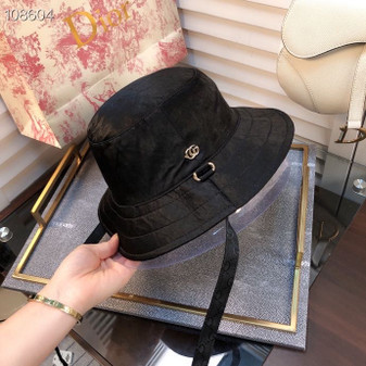 Gucci GG Logo Technical Fabric Bucket Hat Spring/Summer 2020 Collection,  Black