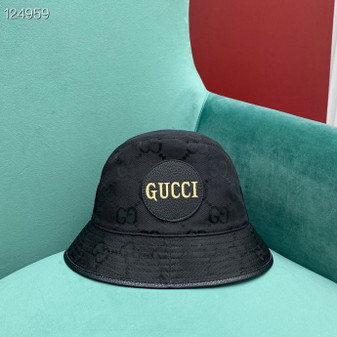 Gucci GG Logo Technical Fabric Bucket Hat Fall/Winter 2020 Collection,  Black