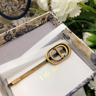 Christian Dior Hairpin Set  Fall/Winter 2020 Collection 127590A, Gold