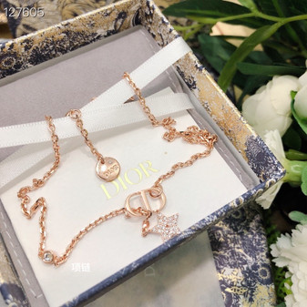 Christian Dior Necklace Fall/Winter 2020 Collection 134893B, Gold