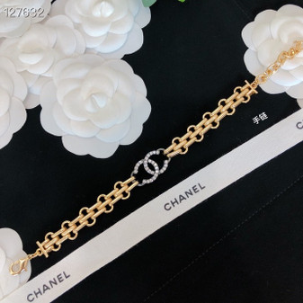 Chanel Crystal Embellished Choker Fall/Winter 2020 Collection 127632C, Gold