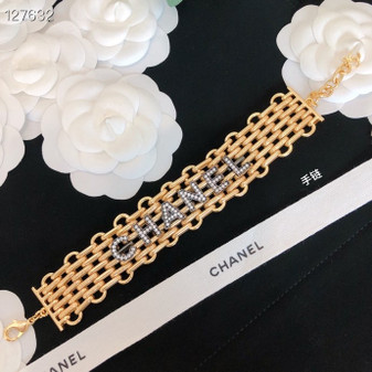 Chanel Crystal Embellished Choker Fall/Winter 2020 Collection 127632D, Gold
