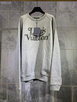 Louis Vuitton Nigo Squared Mens Pullover Fall/Winter 2020 Collection, Grey
