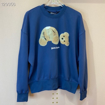 Palm Angels Bear Graphic Pullover Fall/Winter 2020 Collection, Blue