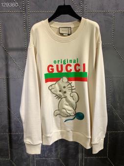 Gucci Original Boutique Unisex Pullover Fall/Winter 2020 Collection, White