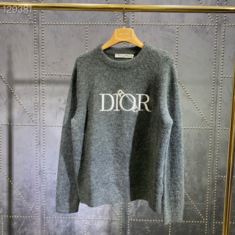 Christian Dior Safety Pin Unisex Pullover Fall/Winter 2020 Collection, Black