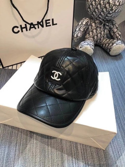 Chanel Baseball Hat Fall/Winter 2020 Collection,  Black