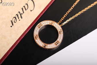 Cartier Love  Necklace,  Rose  Gold