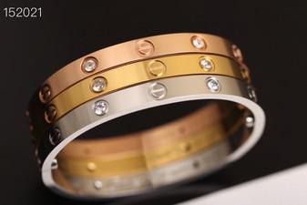Cartier 4 Diamonds Love Bracelet