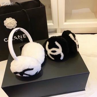 Chanel Fur Earmuffs Ear Warmers (Choose Color)