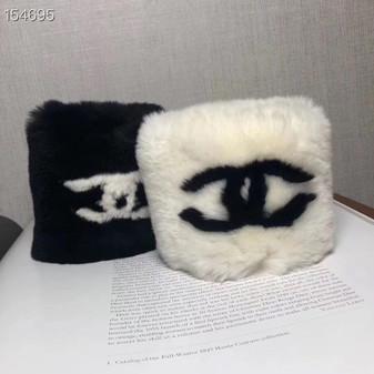 Chanel Fur Wrist Warmer Arm Cuffs  (Choose Color)