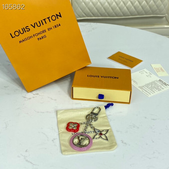 Louis Vuitton Monogram Flower Key Chain Bag Charm Spring/Summer 2020 Collection M64528, Multicolor