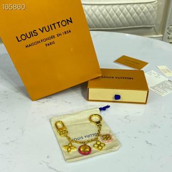 Louis Vuitton Monogram  Flower Key Chain Bag Charm Spring/Summer 2020 Collection M64526, Multicolor