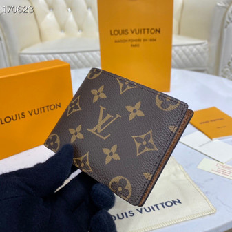 Louis Vuitton Slender Wallet 12cm Monogram Canvas Spring/Summer 2020 Collection M62294, Brown