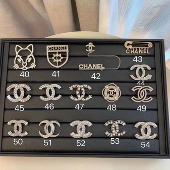 Chanel Brooches 40-54 Fall/Winter 2020 Collection