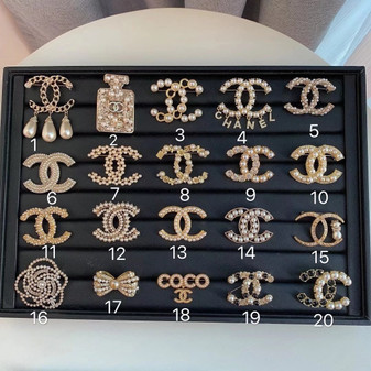 Chanel Brooches 1-20 Fall/Winter 2020 Collection