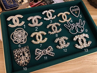 Chanel Brooches 1-13 Fall/Winter 2020 Collection