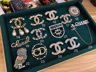 Chanel Brooches 14-26 Fall/Winter 2020 Collection