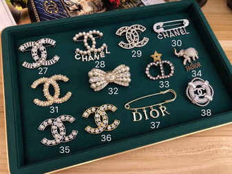 Chanel Brooches 27-38 Fall/Winter 2020 Collection