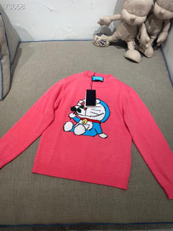 Gucci x Doraemon Women's Wool Sweater Fall/Winter 2020 Collection, Pink