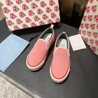 Gucci 1977 Slide On Sneakers Spring/Summer 2021 Collection, Light Pink