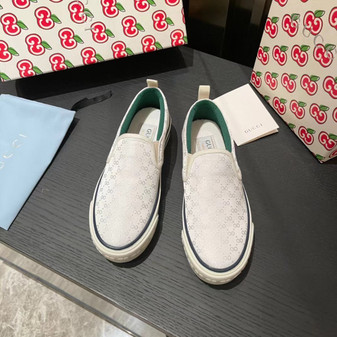 Gucci 1977 Slide On Sneakers Spring/Summer 2021 Collection, White