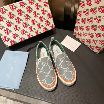 Gucci 1977 Slide On Sneakers Spring/Summer 2021 Collection, Light Blue