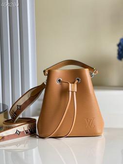 Louis Vuitton NéoNoé BB Bucket Bag 20cm Epi Canvas Leather Spring/Summer 2021 Collection M53610, Gold Honey